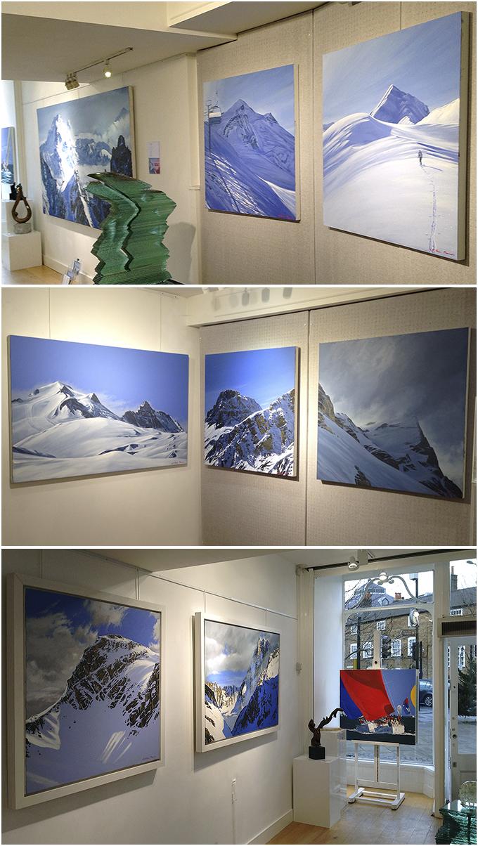William Thomas' Exhibition at Canvas Wimbledon