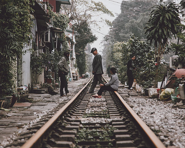 Hanoi Traintracks